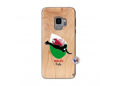 Coque Samsung Galaxy S9 Coupe du Monde Rugby-Walles Bois Bamboo