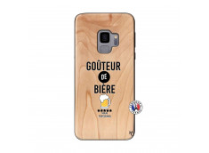 Coque Samsung Galaxy S9 Gouteur De Biere Bois Bamboo