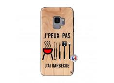 Coque Bois Samsung Galaxy S9 Je Peux Pas J Ai Barbecue
