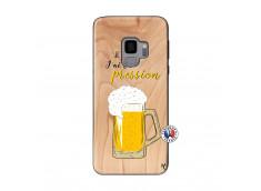 Coque Samsung Galaxy S9 Je peux pas J'ai la Pression Bois Bamboo