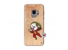 Coque Samsung Galaxy S9 Joker Impact Bois Bamboo