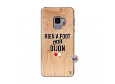 Coque Samsung Galaxy S9 Rien A Foot Allez Dijon Bois Bamboo