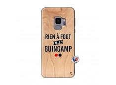 Coque Samsung Galaxy S9 Rien A Foot Allez Guingamp Bois Bamboo