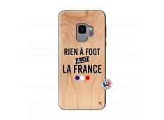 Coque Samsung Galaxy S9 Rien A Foot Allez La France Bois Bamboo