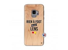 Coque Samsung Galaxy S9 Rien A Foot Allez Lens Bois Bamboo