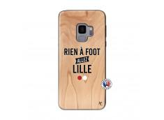 Coque Samsung Galaxy S9 Rien A Foot Allez Lille Bois Bamboo
