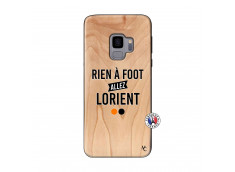 Coque Samsung Galaxy S9 Rien A Foot Allez Lorient Bois Bamboo