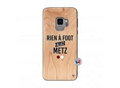 Coque Samsung Galaxy S9 Rien A Foot Allez Metz Bois Bamboo