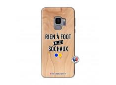 Coque Samsung Galaxy S9 Rien A Foot Allez Sochaux Bois Bamboo