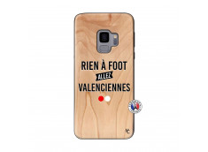 Coque Samsung Galaxy S9 Rien A Foot Allez Valenciennes Bois Bamboo