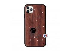 Coque iPhone 11 PRO MAX Astro Girl Bois Walnut