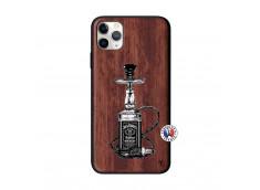 Coque iPhone 11 PRO MAX Jack Hookah Bois Walnut