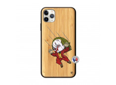 Coque iPhone 11 PRO MAX Joker Impact Bois Bamboo