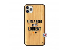 Coque iPhone 11 PRO MAX Rien A Foot Allez Lorient Bois Bamboo