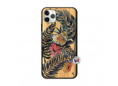 Coque iPhone 11 PRO MAX Leopard Tree Bois Bamboo