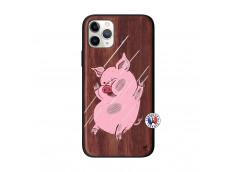 Coque iPhone 11 PRO Pig Impact Bois Walnut