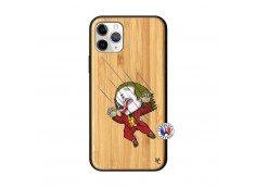 Coque iPhone 11 PRO Joker Impact Bois Bamboo
