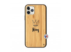 Coque iPhone 11 PRO King Bois Bamboo