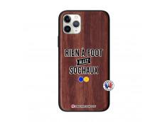 Coque iPhone 11 PRO Rien A Foot Allez Sochaux Bois Walnut