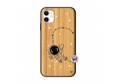 Coque iPhone 11 Astro Girl Bois Bamboo