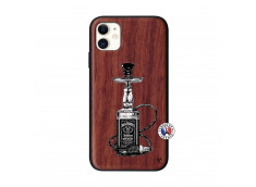 Coque iPhone 11 Jack Hookah Bois Walnut