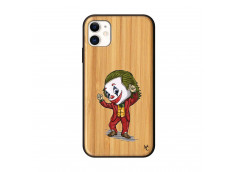 Coque iPhone 11 Joker Dance Bois Bamboo
