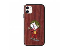 Coque iPhone 11 Joker Dance Bois Walnut