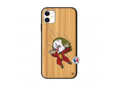 Coque iPhone 11 Joker Impact Bois Bamboo