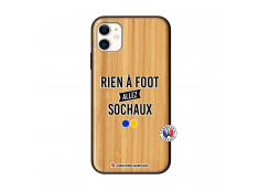 Coque iPhone 11 Rien A Foot Allez Sochaux Bois Bamboo