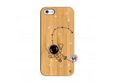 Coque iPhone 5/5S/SE Astro Girl Bois Bamboo