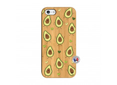 Coque iPhone 5/5S/SE Avocats Bois Bamboo
