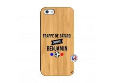 Coque iPhone 5/5S/SE Frappe De Batard Comme Benjamin Bois Bamboo
