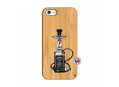 Coque iPhone 5/5S/SE Jack Hookah Bois Bamboo