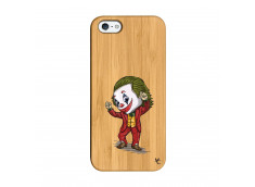 Coque iPhone 5/5S/SE Joker Dance Bois Bamboo
