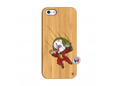 Coque iPhone 5/5S/SE Joker Impact Bois Bamboo
