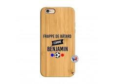Coque iPhone 6/6S Frappe De Batard Comme Benjamin Bois Bamboo