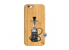 Coque iPhone 6/6S Jack Hookah Bois Bamboo