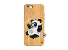 Coque iPhone 6/6S Panda Impact Bois Bamboo