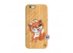 Coque iPhone 6/6S Fox Impact Bois Bamboo
