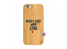 Coque iPhone 6/6S Rien A Foot Allez Lens Bois Bamboo