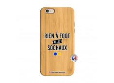 Coque iPhone 6/6S Rien A Foot Allez Sochaux Bois Bamboo