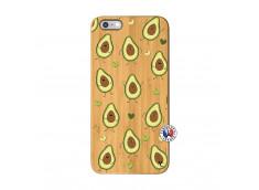 Coque iPhone 6Plus/6S Plus Avocats Bois Bamboo