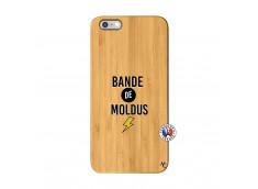 Coque iPhone 6Plus/6S Plus Bandes De Moldus Bois Bamboo
