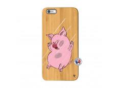 Coque iPhone 6Plus/6S Plus Pig Impact Bois Bamboo
