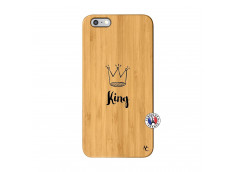 Coque iPhone 6Plus/6S Plus King Bois Bamboo