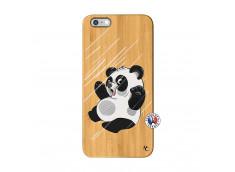 Coque iPhone 6Plus/6S Plus Panda Impact Bois Bamboo