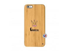 Coque iPhone 6Plus/6S Plus Queen Bois Bamboo
