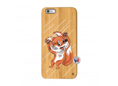 Coque iPhone 6Plus/6S Plus Fox Impact Bois Bamboo
