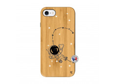 Coque iPhone 7/8 Astro Girl Bois Bamboo
