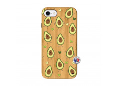 Coque iPhone 7/8 Avocats Bois Bamboo